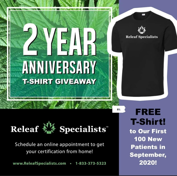 2 Year Anniversary T-Shirt Giveaway